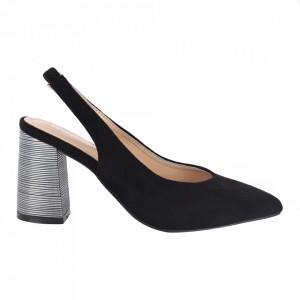 Pantofi cu toc cod OD0220 Black