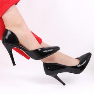 Pantofi cu toc pentru dame cod AF9480 Black
