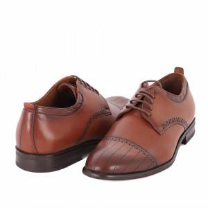 Pantofi din piele naturală Alvin Maro