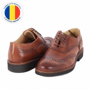Pantofi din piele naturală Amado