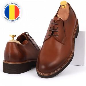 Pantofi din piele naturală Andres Maro