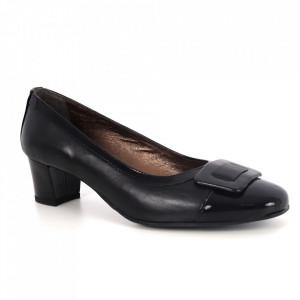 Pantofi din piele naturală cod 190 Black