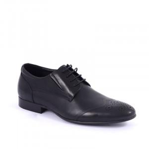 Pantofi din piele naturală cod C211301 Negri