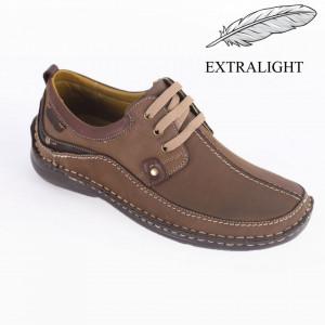 Pantofi din piele naturală pentru bărbați cod 317 MT