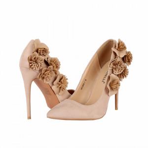 Pantofi Marrisa Beige