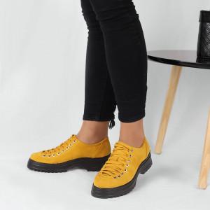 Pantofi pentru dame cod 1466D2 Galbeni