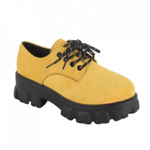 Pantofi pentru dame cod KR-023 Yellow