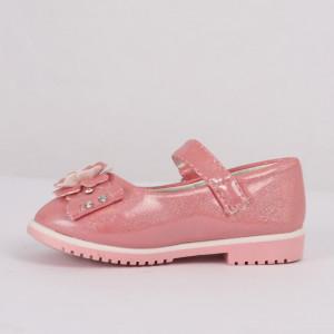 Pantofi pentru fete cod CP67 Roz - Pantofi pentru fete cu un design lejer ceea ce ii face foarte comozi la purtare - Deppo.ro