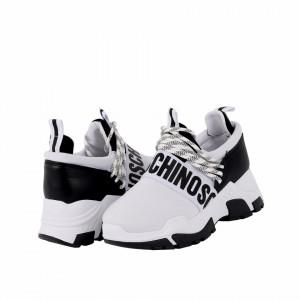 Pantofi Sport cod 452 Albi - Pantofi sport din material textil respirabil și talpă din spumă - Deppo.ro