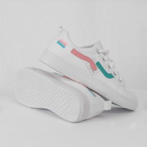 Pantofi Sport Cod 686 - Pantofi sport din piele ecologică Închidere prin șiret Foarte comfortabili - Deppo.ro