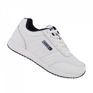 Pantofi sport din piele naturală pentru dame cod 1347-1 White