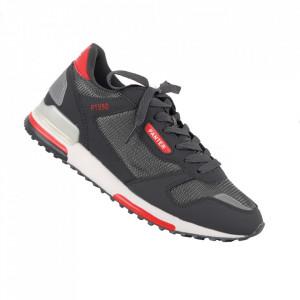 Pantofi sport pentru bărbați cod 9259 D. Grey