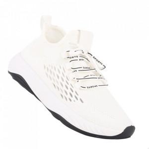 Pantofi sport pentru bărbați cod A02 White