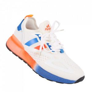 Pantofi sport pentru bărbați cod A07-5 White