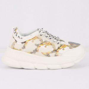Pantofi Sport pentru bărbați cod H3-1 White