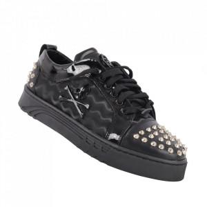 Pantofi sport pentru bărbați cod PHLP01 Black