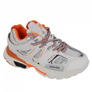 Pantofi sport pentru bărbați cod ZP1923-1 White