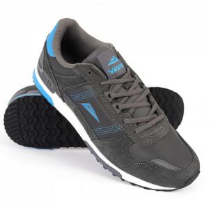 Pantofi Sport pentru bărbați Veer gri închis cod V205