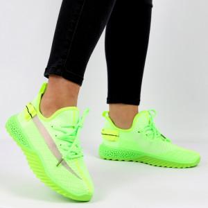 Pantofi Sport pentru dame Cod 1653SM Green