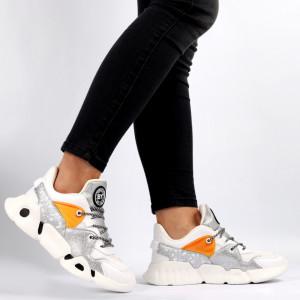 Pantofi Sport pentru dame Cod L308-2 White