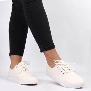 Pantofi sport pentru dame Cod N7005 White
