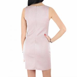 Rochie Alyson Pink - Rochie scurtă elegantă, pe corp, simte-te atrăgătoare purtând această rochie și atrage toate privirile la urmatoarea petrecere. - Deppo.ro