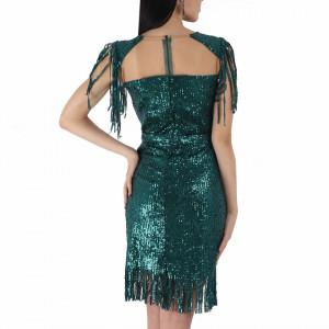 Rochie Danielle Green - Rochie elegantă cu paiete, simte-te atrăgătoare purtând această rochie și strălucește la urmatoarea petrecere. - Deppo.ro