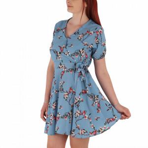Rochie de vară cod LP5592 Albastră