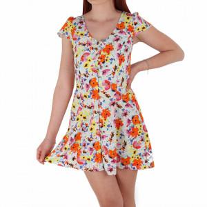 Rochie de vară cu design floral