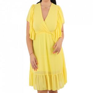 Rochie Denisa Yellow