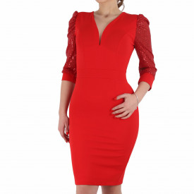 Rochie Willow Red