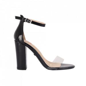 Sandale din piele ecologică cod M16 Black