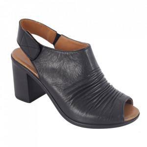 Sandale din piele naturală cod 065 Black