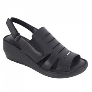Sandale din piele naturală cod 634 Black