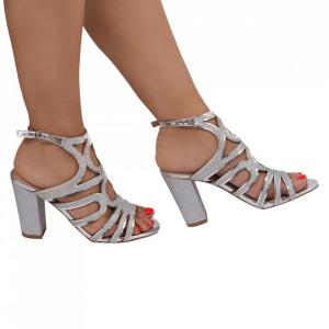 Sandale pentru dame cod 5644-3 Silver