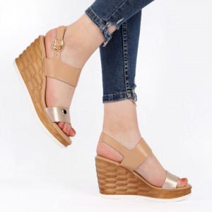 Sandale pentru dame cod 910-8 Gold