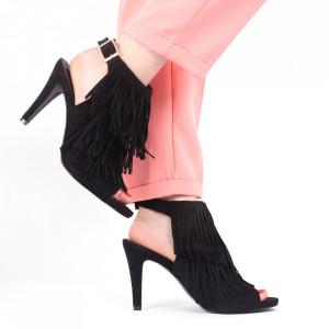 Sandale pentru dame cod B5663 Negre