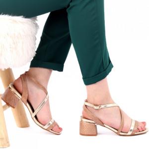 Sandale pentru dame cod CD02 Gold