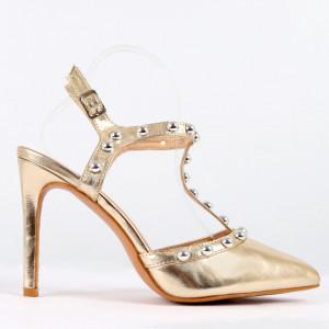 Sandale pentru dame cod HH3 Golden