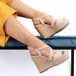 Sandale pentru dame cod JM220J Nude