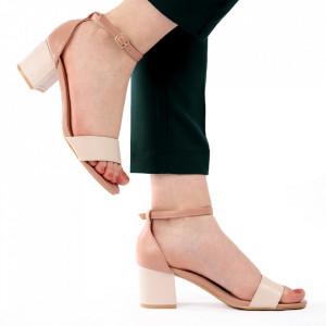 Sandale pentru dame cod L19 Beige