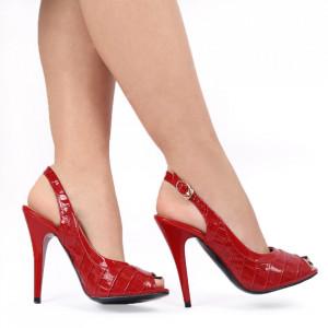 Sandale pentru dame cod VN5129-4 RED