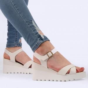Sandale pentru dame cod YH-15 White