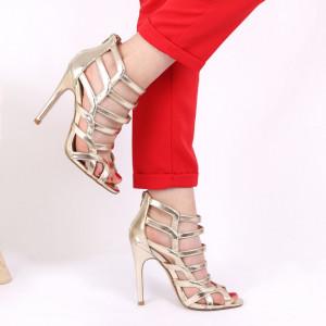 Sandale pentru dame cod YK0121 Gold