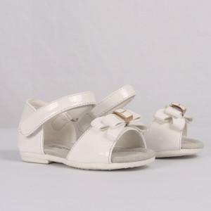 Sandale pentru fete cod CP57 Albe - Sandale pentru fete foarte comode ideale pentru sezonul estival - Deppo.ro