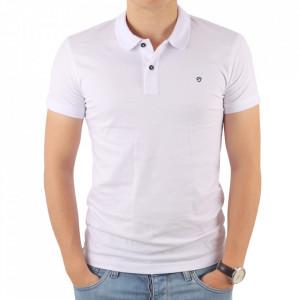 Tricou pentru bărbați cod 4002 Alb