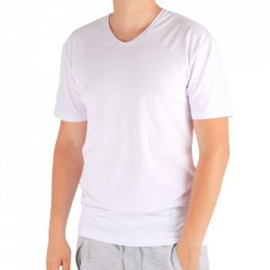 Tricou pentru bărbați Cod 4120 White