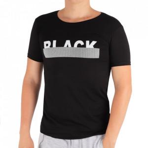 Tricou pentru bărbați Cod BLK99 Black