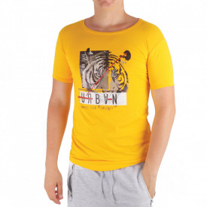 Tricou pentru bărbați Cod LL45 Yellow