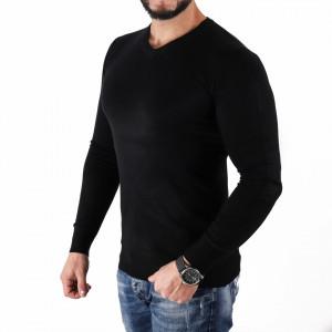 Bluză Felix Black - Bluza simplă este cel mai versatil articol vestimentar din sezonul rece, o piesă cu reputaţie a stilului casual având compoziţia 50% Viscoză 28% PPTşi 22% Elastan - Deppo.ro